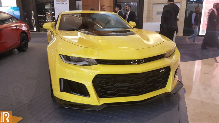 The New Camaro ZL1 by Chevrolet
