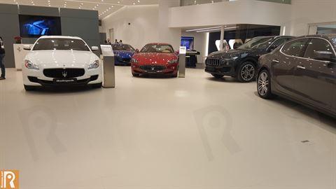 Maserati Quattroporte , GranTurismo and Levante