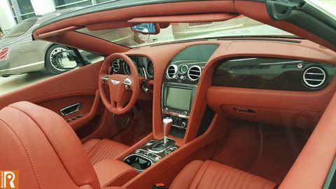 Bentley GTC V8S - Interior