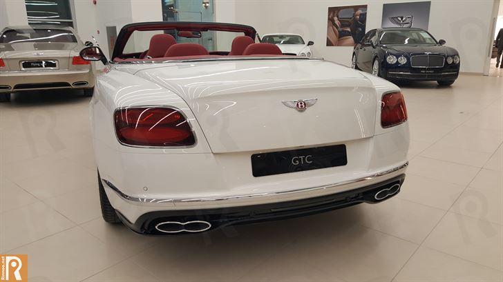 Bentley GTC V8S - Rear