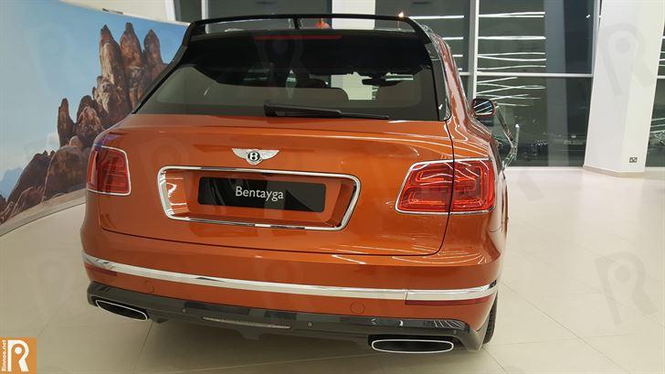 Bentley Bentayga - Rear