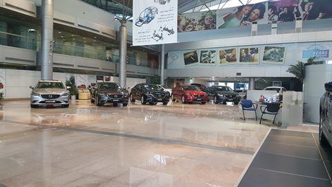 Mazda Showroom Kuwait