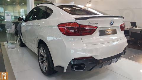 BMW X6 - Rear