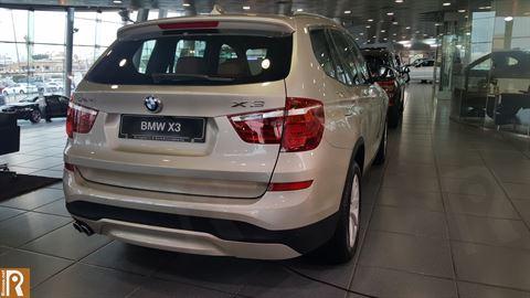 BMW X3 - Rear