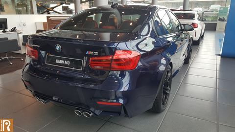BMW M3 - Rear