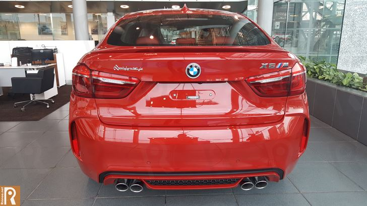 BMW X6 M - Rear
