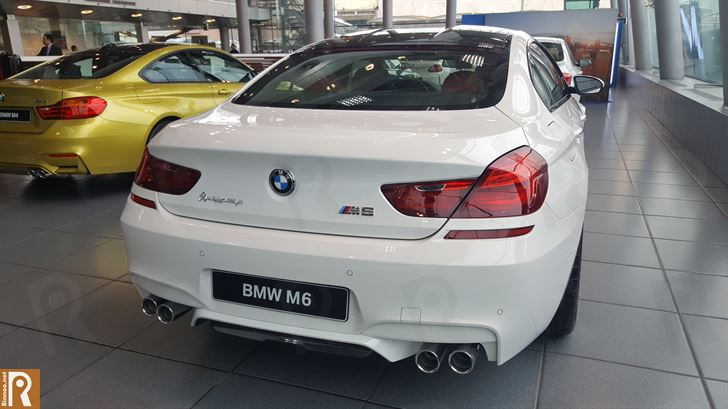 BMW M6 - Rear