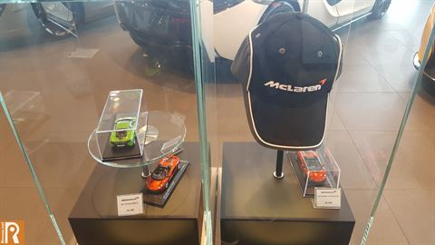 McLaren Collectible Display Models