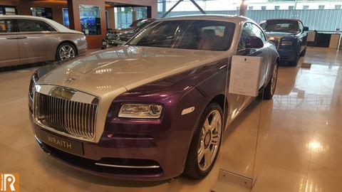 Rolls-Royce Wraith - 129,000 KD