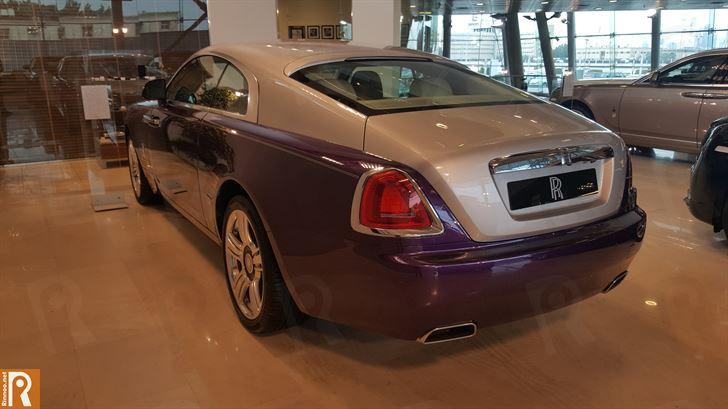 Rolls-Royce Wraith - Rear