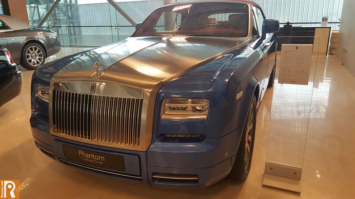 Rolls-Royce Phantom Drophead Coupe - 192,000 KD