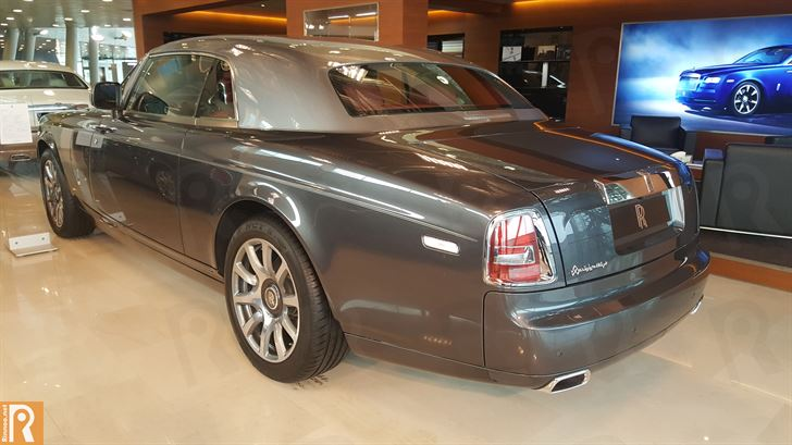 Rolls-Royce Phantom Coupe - Rear