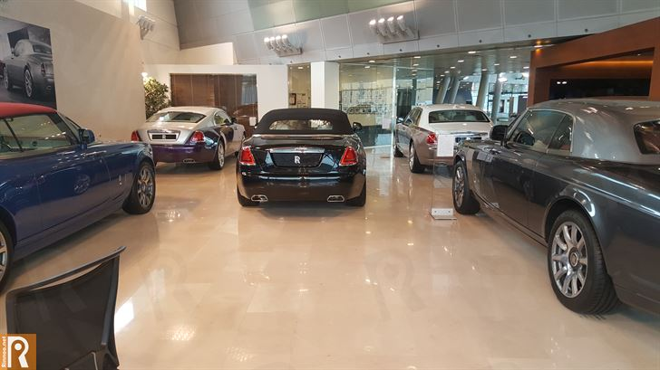 Ali Alghanim & Sons Cars Showroom - Rolls-Royce