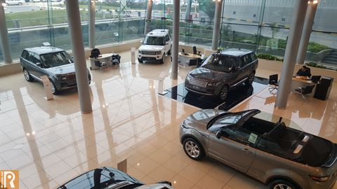 Ali Alghanim & Sons Cars Showroom - Land Rover Vehicles