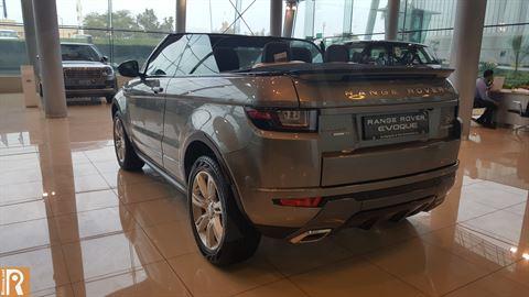 Land Rover - Range Rover Evoque Convertible Rear