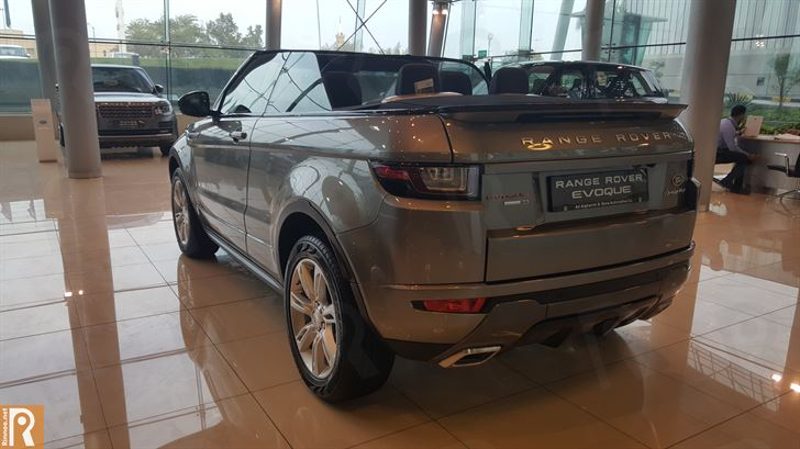 Land Rover - Range Rover Evoque Convertible Rear