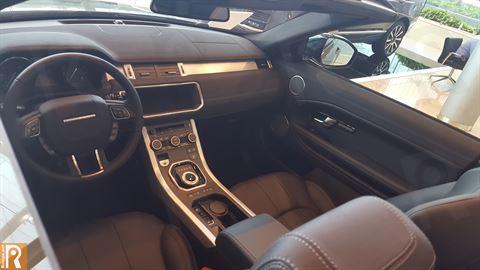 Land Rover - Range Rover Evoque Convertible Interior