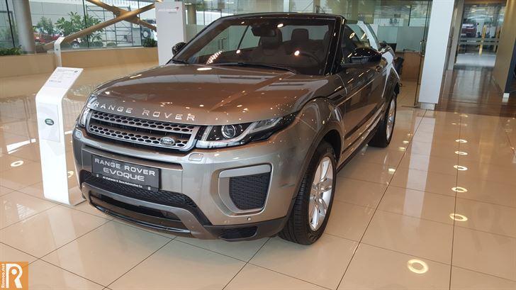 Land Rover - Range Rover Evoque Convertible