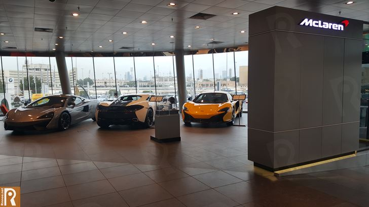 Ali Alghanim & Sons Cars Showroom - McLaren Cars