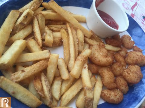 Fried Shrimp and Chips