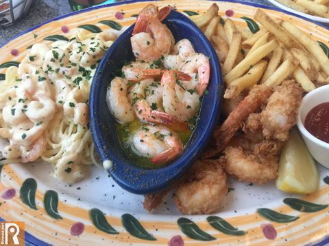 Seaside Shrimp Trio