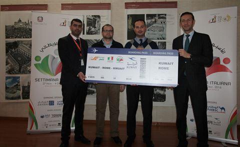 "The Sultan Center Announces ""Italian Food Festival"" Winners"
