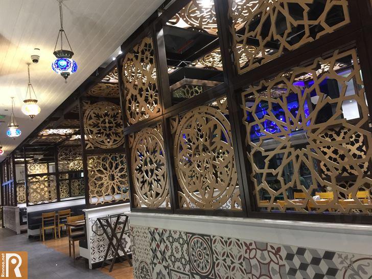 عشاء في مطعم كوشي باشي فرع كيوب مول