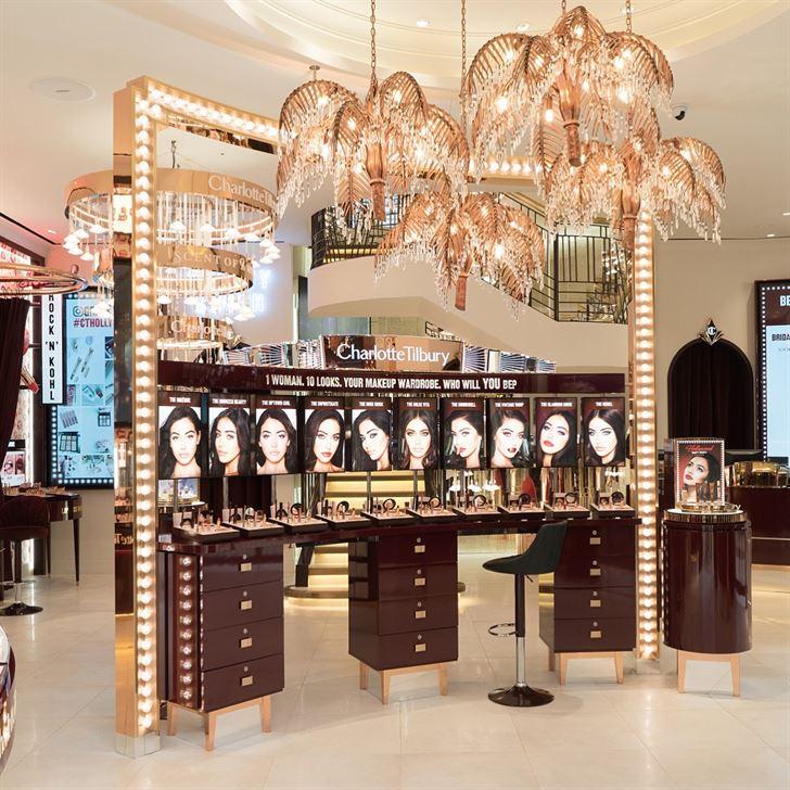 """افتتاح شارلوت تلبوري في الأفنيوز ... أول محل """"Beauty Wonderland"""" في الشرق الأوسط"""