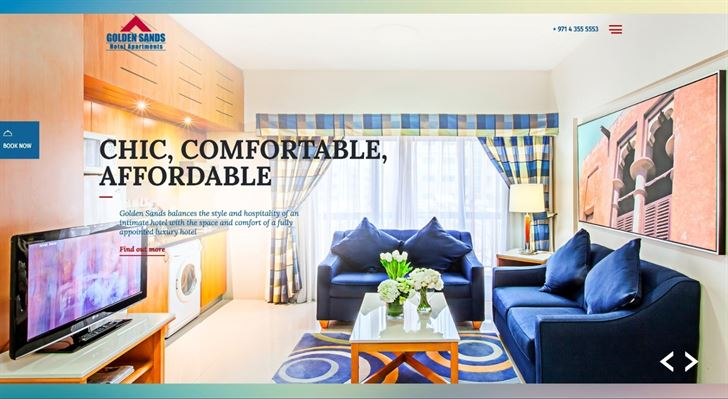 Golden Sands Hotel Apartments unveils revamped website