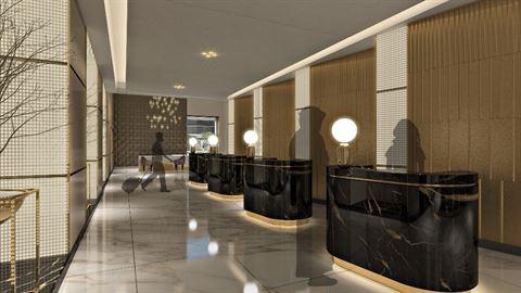 Millennium Plaza Dubai New Lobby Design