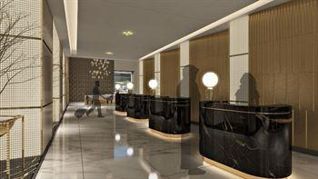 تصميم بهو فندق ميلينيوم بلاز دبي الجديد