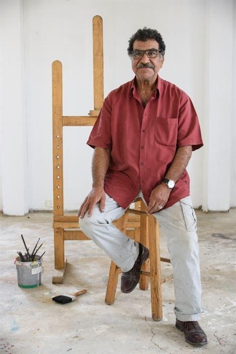 الفنان محمد عبلة