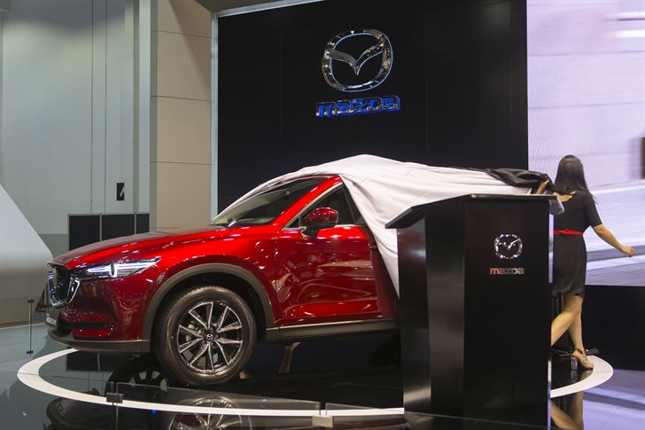 Showing Mazda CX-5