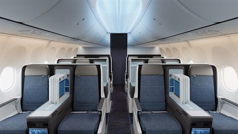 Boeing 737 MAX 8 - Business Seats