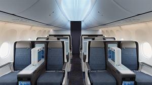 بوينغ 737 ماكس 8 - مقاعد درجة رجال الأعمال