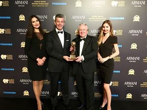 Nemo Acimovic, General Manager of Millennium Plaza Dubai at the Gala Ceremony