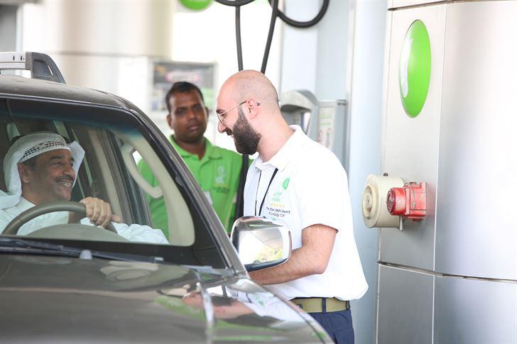 أولى لتسويق الوقود تستمر بتحقيق 100% نسبة التكويت في محطاتها