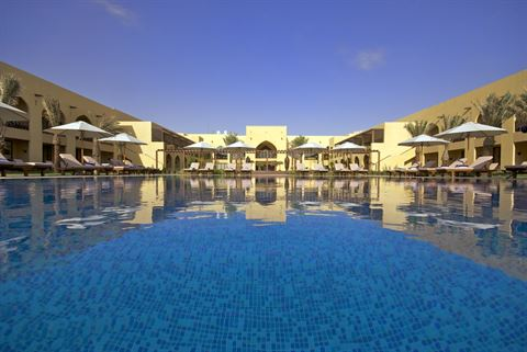 Family getaways are guaranteed fabulous at Tilal Liwa Hotel