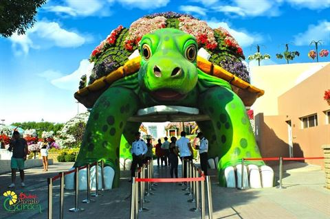 Dubai Miracle Garden Opening Date and Tickets Price for Season 2017 - 2018