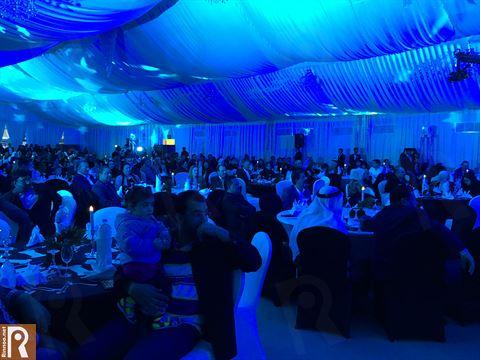 الحضور في حفل تكريم العملاء في سفير الفنطاس