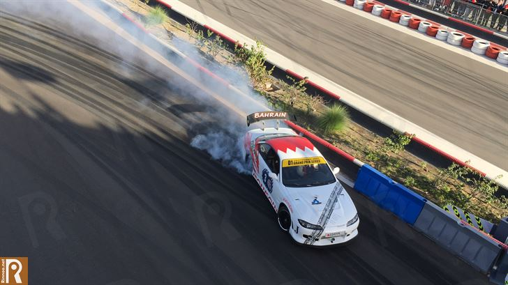 Snapshots from Red Bull Car Park Drift Series Final 2017 in Kuwait