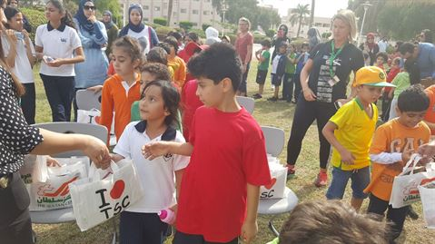 The Sultan Center (TSC) Supports Gulf English School (GES) Annual Sport's Day