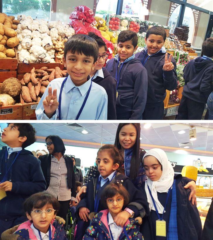 مركز سلطان يستضيف طلاب مدرسة خليفة