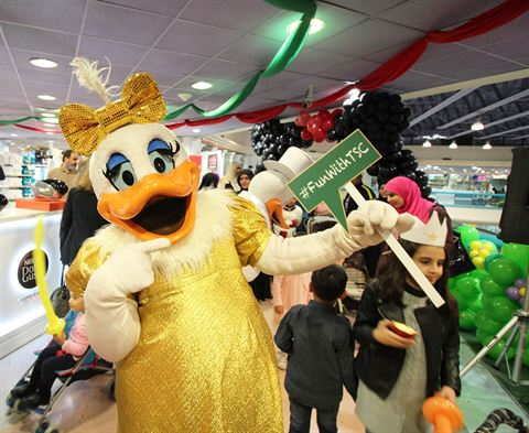 """Meet and Greet Your Favorite Cartoon Characters"" Event at Sultan Center Salmiya"