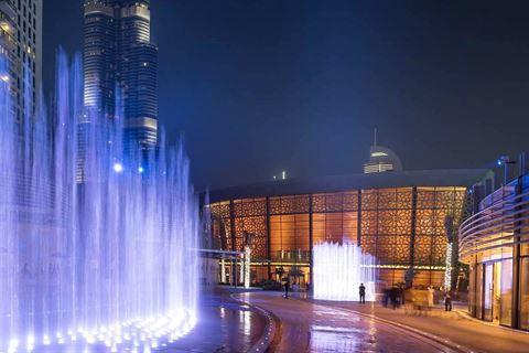 أوبرا دبي ... تحفة معمارية تنبض بالفن في قلب دبي