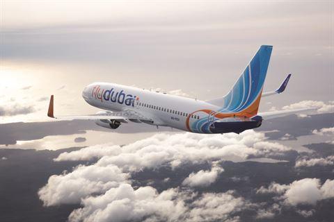 فلاي دبي تشغل 24 رحلة اضافية بين دبي والكويت