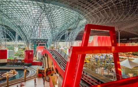 Turbo Track Thrill Ride Soon in Ferrari World Abu Dhabi