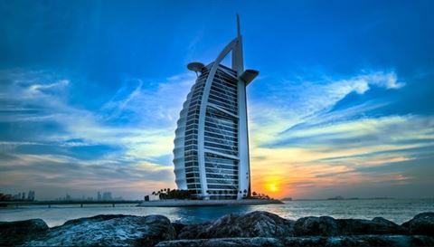 برج العرب جميرا ... الأول عالميا بين الفنادق الأكثر متابعة على صفحات التواصل الاجتماعي