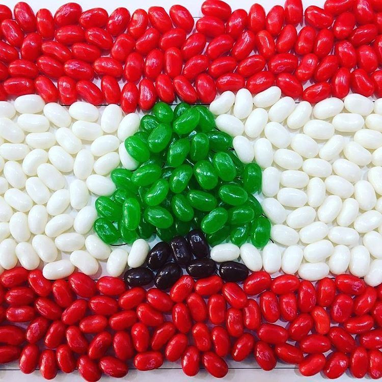 7 Lebanese Flags Made With Food Rinnoo Net Website