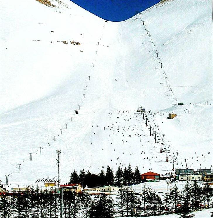 لقطات رائعة من موسم الشتاء في لبنان